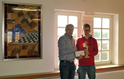 Sieger Hauptturnier Fabian Hornung